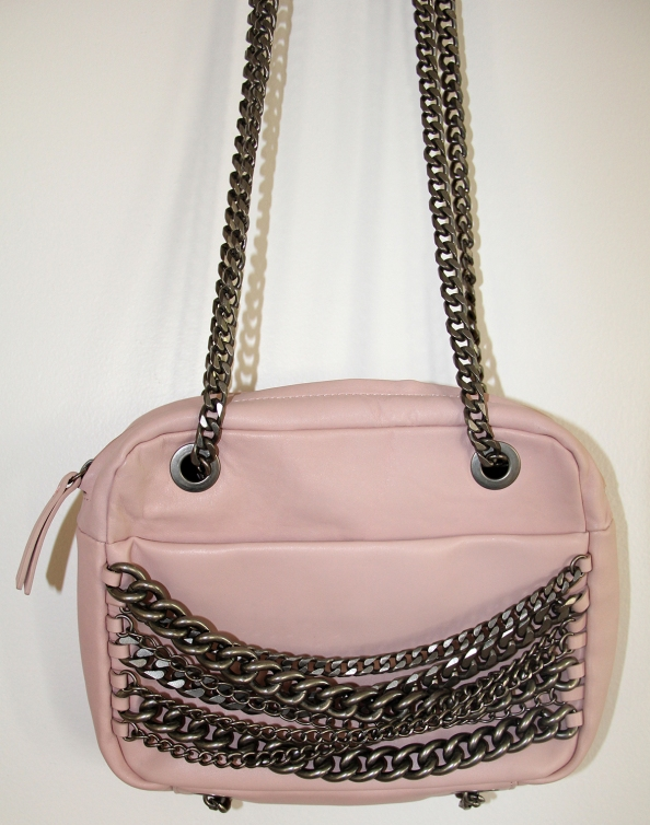 zara bag, messanger bag with chains